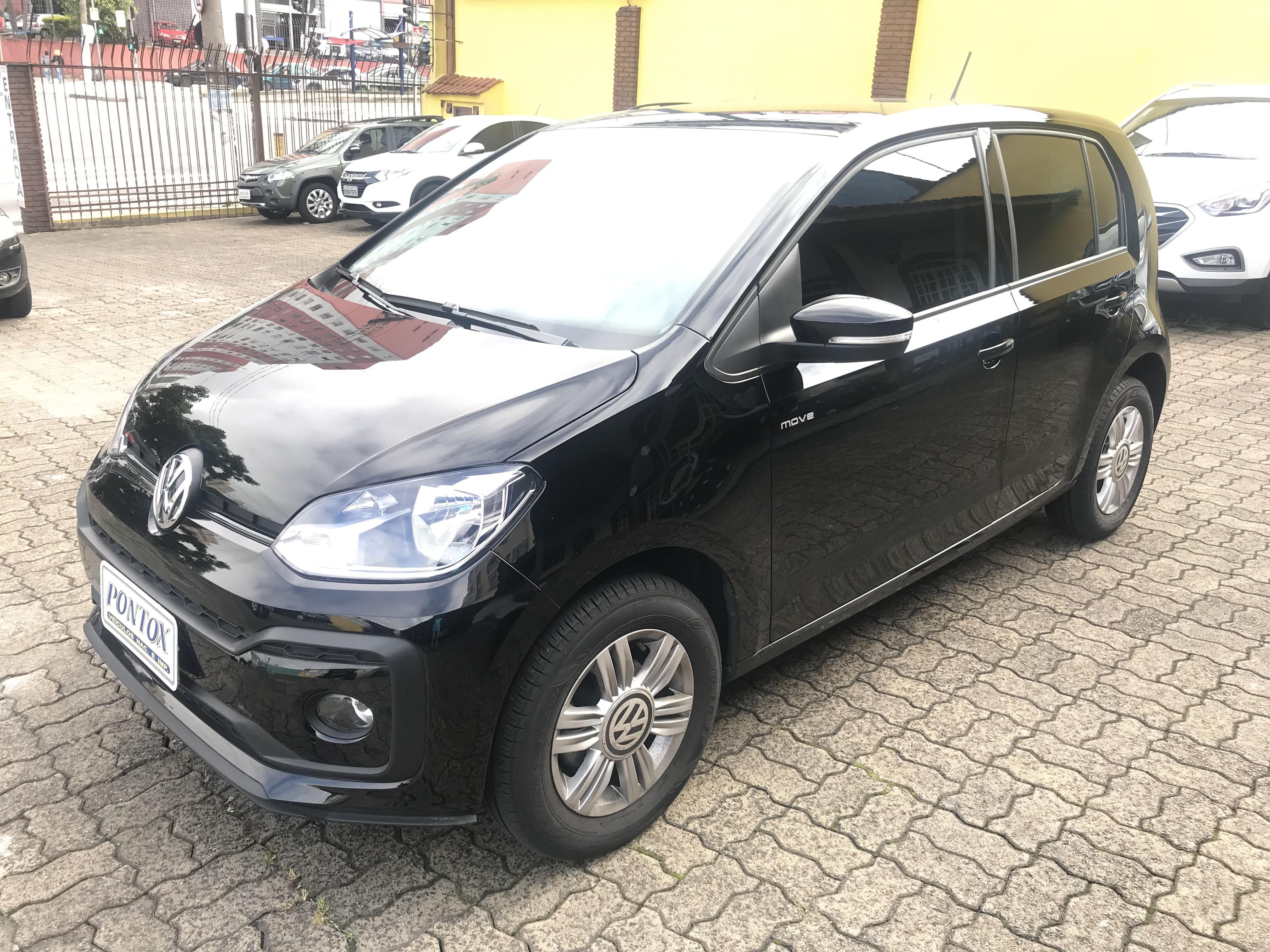 VW UP 1.0 MOVE ,2018/2018 ,SÓ 7680 QUILOMETROS, GARANTIA DE FABRICA , E PEGAR E ANDAR
