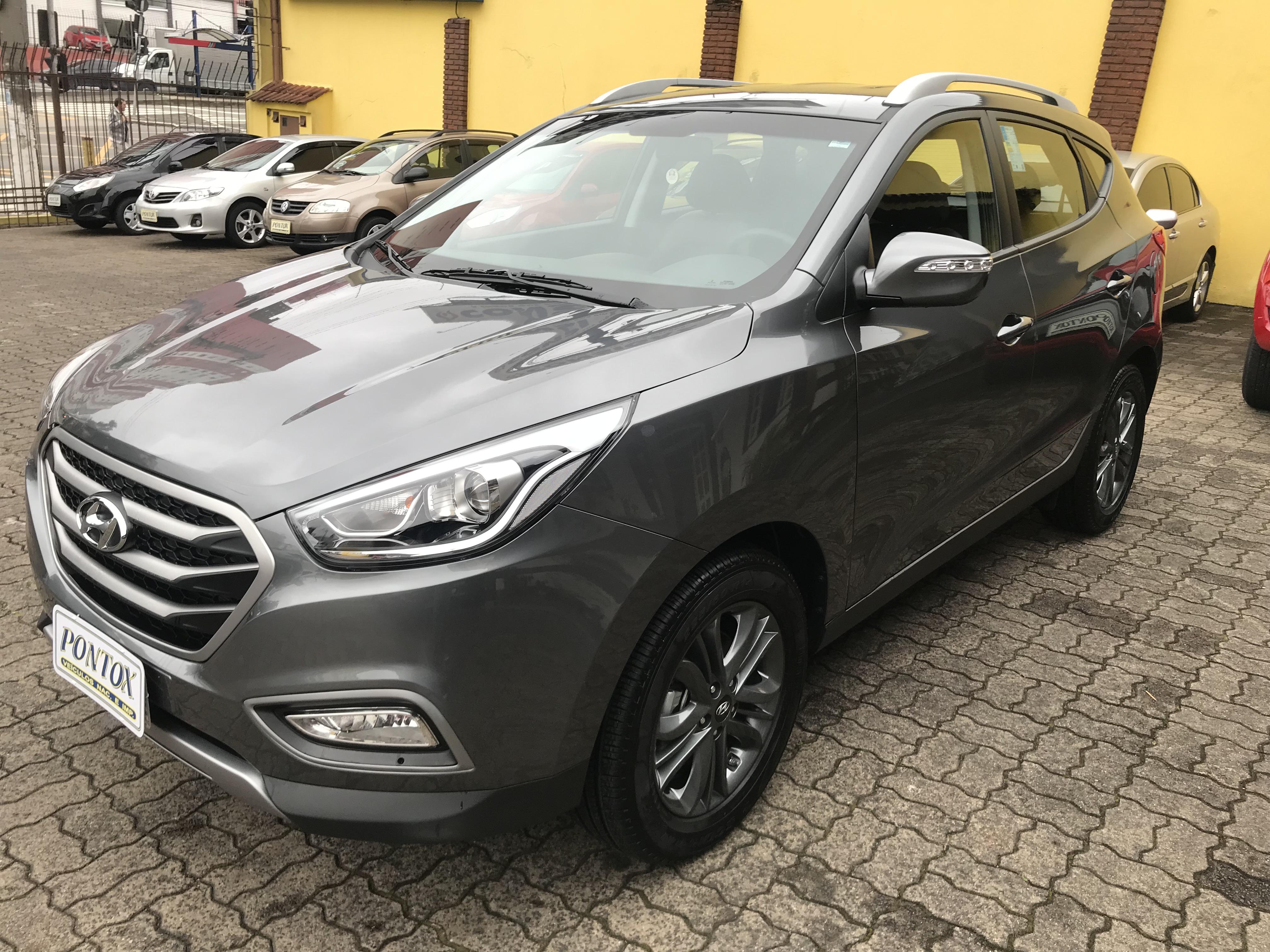 HYUNDAI IX35 AUTOMATICA 2017/2018 , EM GARANTIA DE FABRICA , BANCO EM COURO , SÓ 2144 KM